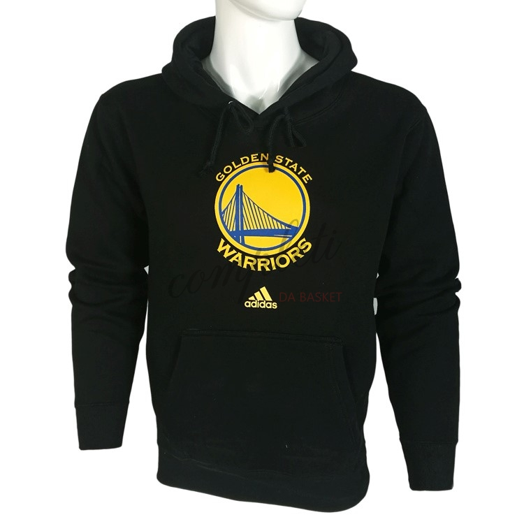 Comprare Felpe Con Cappuccio NBA Golden State Warriors Nero City