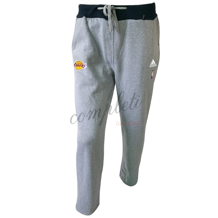 Comprare Giacca Pantaloni Basket Los Angeles Lakers Grigio