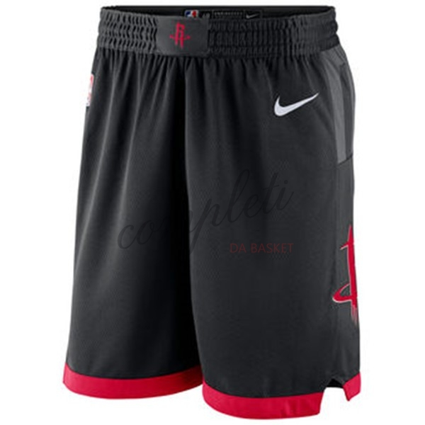 Comprare Pantaloni Basket Houston Rockets Nike Nero