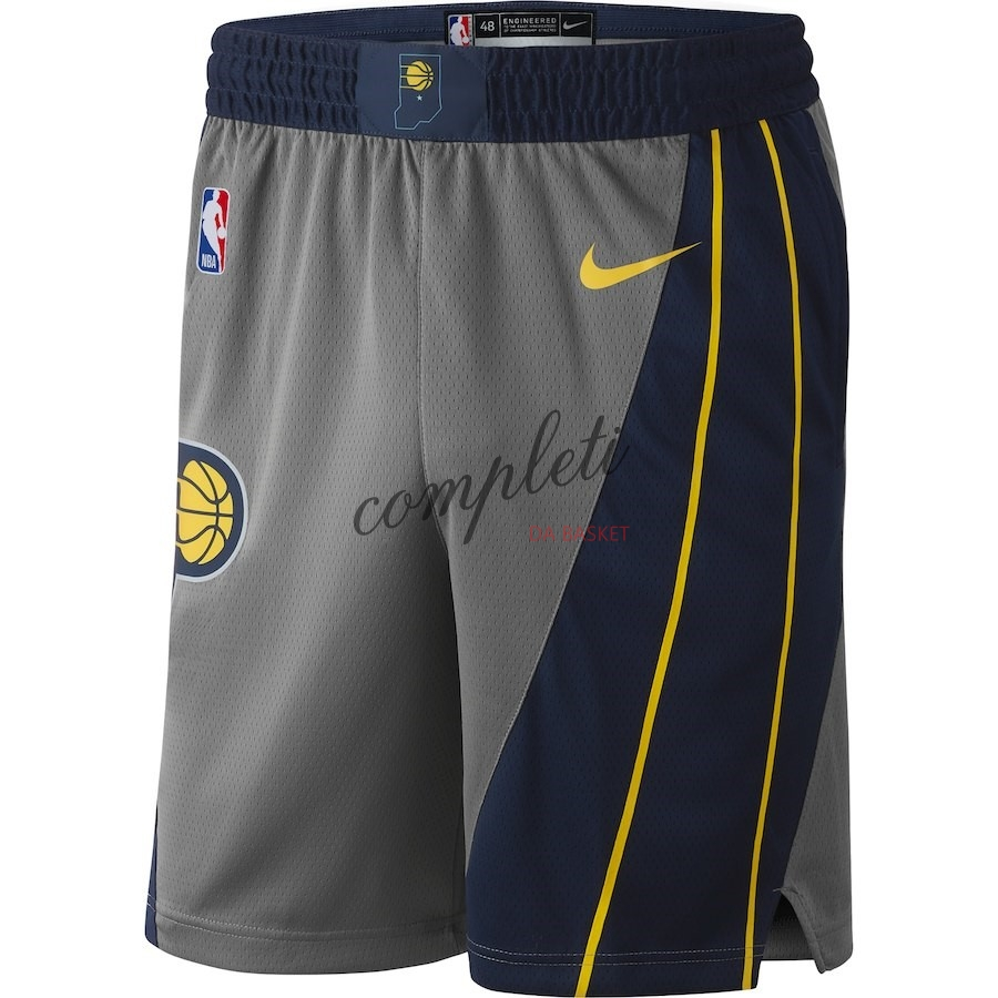Comprare Pantaloni Basket Indiana Pacers Nike Grigio Città 2018-19