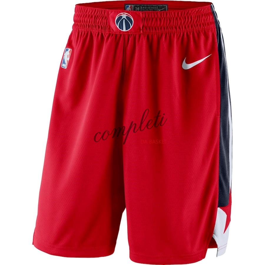 Comprare Pantaloni Basket Washington Wizards Nike Rosso Icon 2018