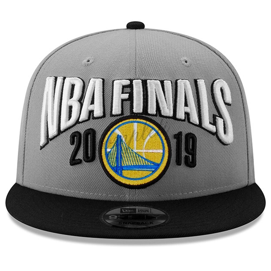 Comprare Gorros 2019 NBA Finals Golden State Warriors Grigio