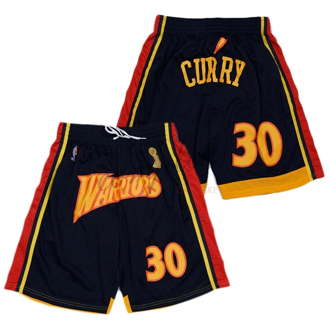 Comprare Pantaloni Basket Golden State Warriors Curry Nero