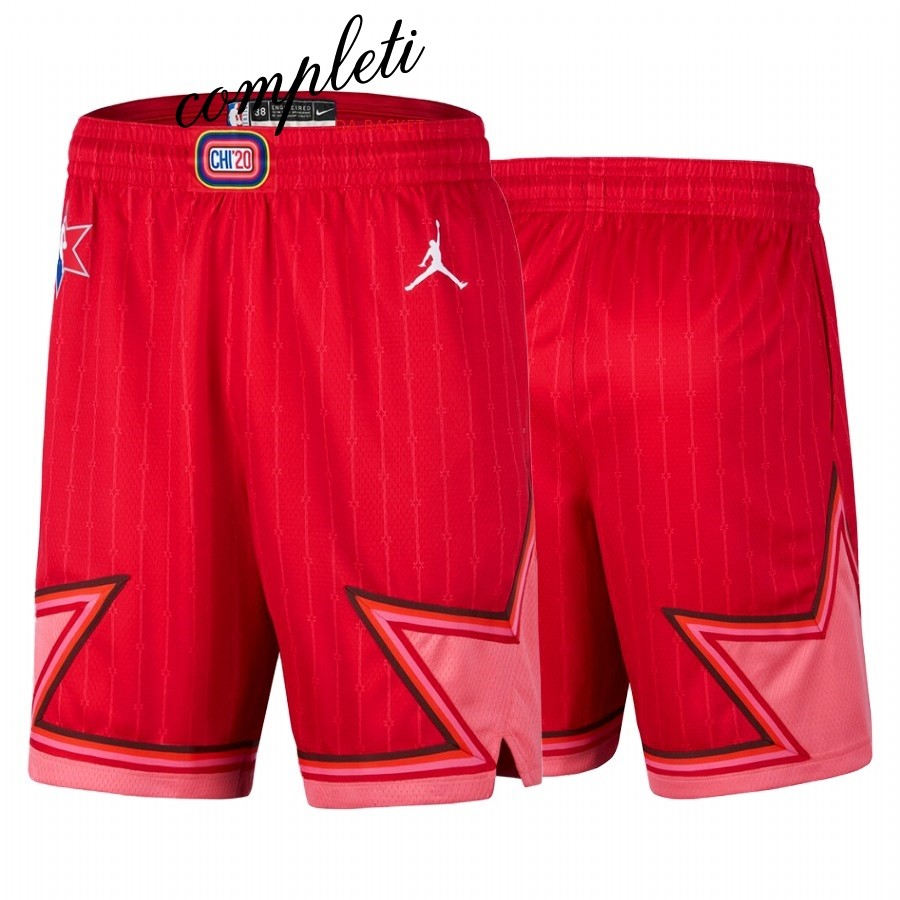 Comprare Pantaloni Basket 2020 All Star Rosso