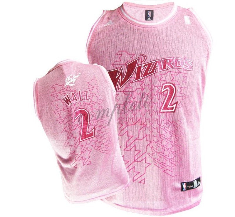 Comprare Maglia NBA Donna Washington Wizards NO.2 John Wall Rose