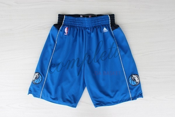 Comprare Pantaloni Basket Dallas Mavericks Blu