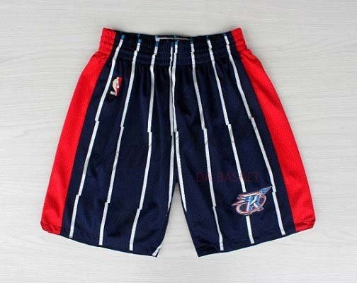 Comprare Pantaloni Basket Houston Rockets Blu