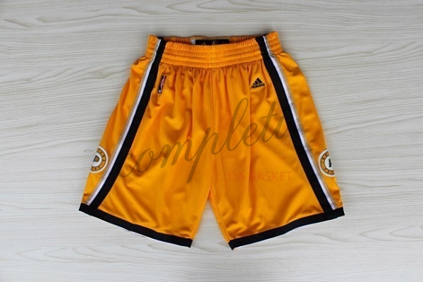 Comprare Pantaloni Basket Indiana Pacers Giallo
