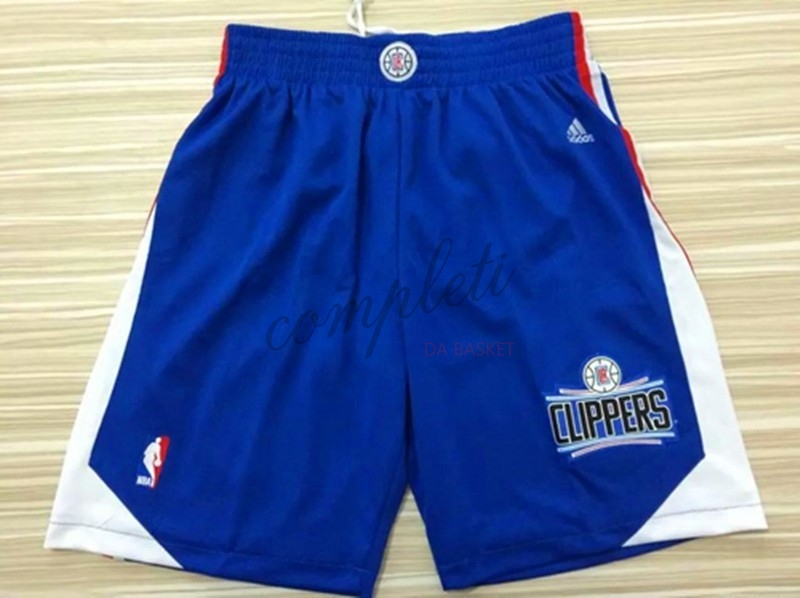 Comprare Pantaloni Basket Los Angeles Clippers Blu